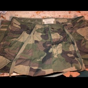 Abercrombie and Fitch camo shorts